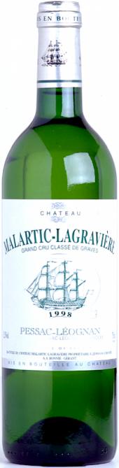 Château Malartic-Lagravière blanc 2001