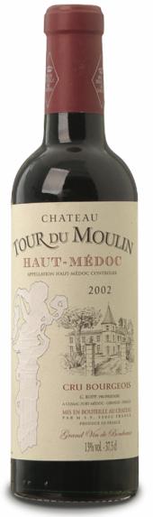 Château Tour du Moulin 2002  - meia gfa.