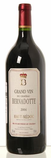 Château Bernadotte 2004  - Magnum