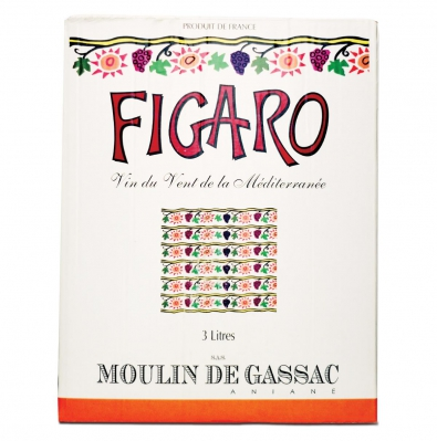 Figaro rouge 2007  - Bag-in-box de 3 Litros
