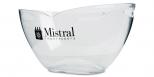Champagneira c/ Logo Mistral - Balde de Gelo Translúcido duplo