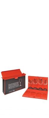 Kit com 4 taças para degustação - Montrachet / Pinot Noir / Cabernet Sauvignon / Riesling - Linha Vinum XL