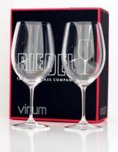Taça Bordeaux Cabernet Sauvignon - Kit com 2 taças - Linha Vinum