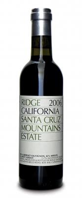 Ridge Santa Cruz Estate 2006  - meia gfa.