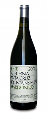 Ridge Santa Cruz Estate Chardonnay 2007