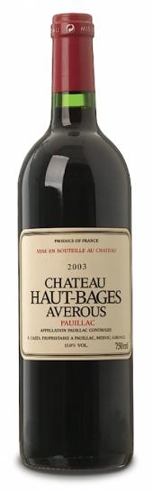 Château Haut Bages Averous 2007