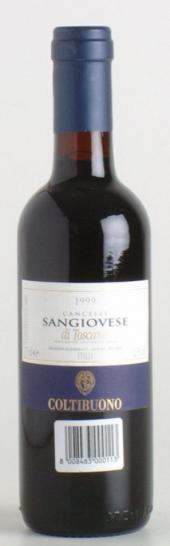 Sangiovese Cancelli 2008  - meia gfa.