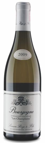 Bourgogne blanc Les Champlains 2009