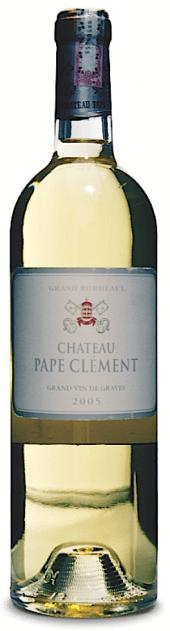 Château Pape Clement blanc 2005