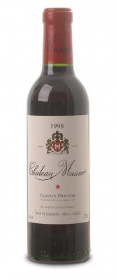 Château Musar rouge 2004  - meia gfa.