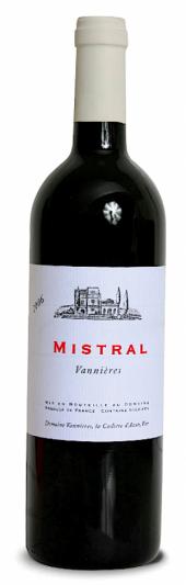 Vannières Mistral rouge 2010