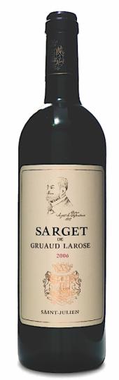 Sarget de Gruaud Larose 2009