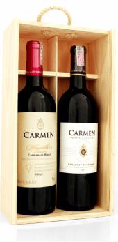 Kit Viña Carmen - Gold Reserve Cabernet Sauvignon 2009 + Winemaker Carmenere 2008
