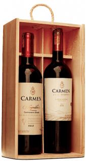 Kit Viña Carmen - Gold Reserve Cabernet Sauvignon 2009 + Gran Reserva Carmenere 2011