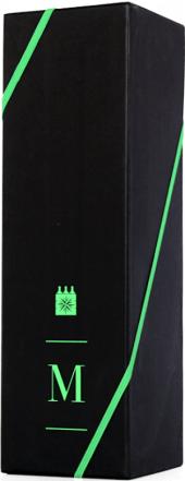 Caixa Presente 1 gf - PRETA COM LOGO VERDE