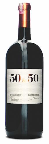 50 & 50 IGT Toscana 2008  - Magnum
