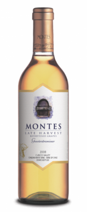 Montes Late Harvest Gewurztraminer 2011  - meia gfa.