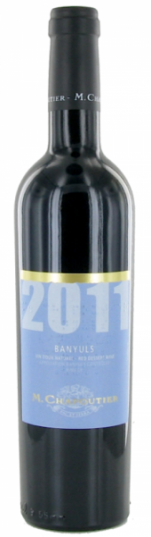 Banyuls rouge 2011  - 500 ml