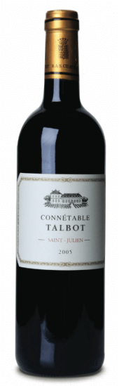 Connetable du Château Talbot 2010