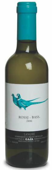 Rossj-Bass Langhe Chardonnay/Sauvignon Blanc 2012  - meia gfa.