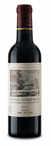 Château Duhart-Milon-Rothschild 2011  - meia gfa.