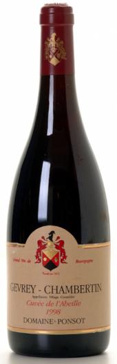 Gevrey-Chambertin Cuvée L'Abeille 2010