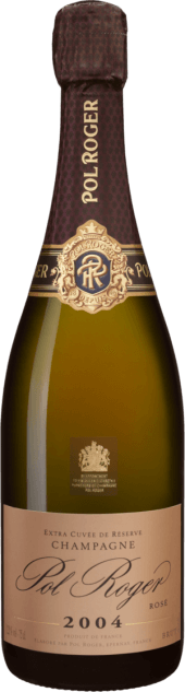 Champagne Pol Roger Rosé Brut Vintage 2004