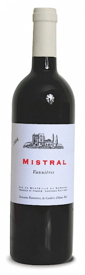 Mistral Vannières rouge 2012