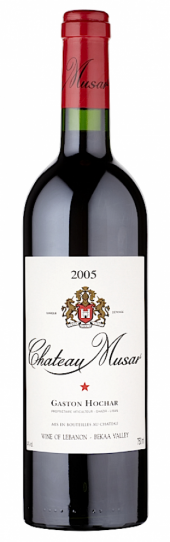Château Musar rouge 2005