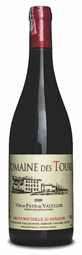 Domaine des Tours Vin de Pays de Vaucluse 2010