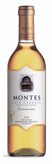 Montes Late Harvest Gewurztraminer 2012  - meia gfa.