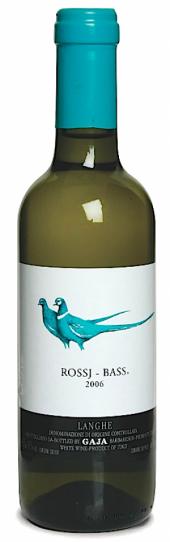 Rossj-Bass Langhe Chardonnay Sauvignon Blanc 2013  - meia gfa.