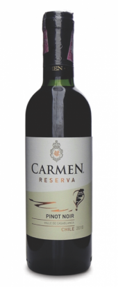 Carmen Reserva Pinot Noir 2014  - meia gfa.