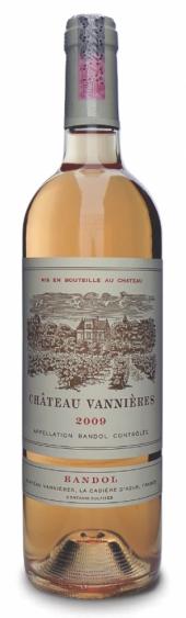 Chateau Vannières Bandol rosé 2013