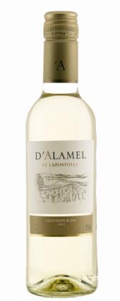 D'Alamel Sauvignon Blanc 2014  - meia gfa.