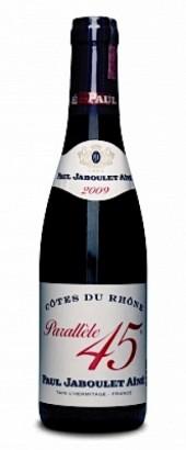 Côtes-du-Rhône Parallèle 45 rouge 2012  - meia gfa.