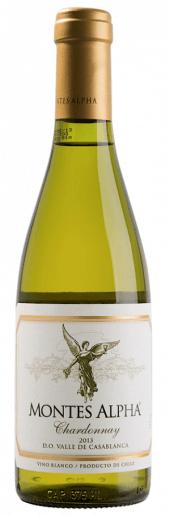 Montes Alpha Chardonnay 2013  - meia gfa.