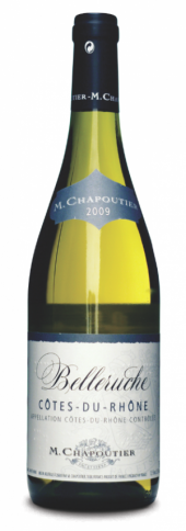 Côtes du Rhône Belleruche blanc 2013