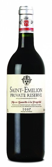 Saint Emilion Private Reserve 2012