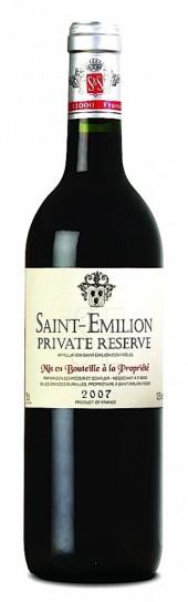 Saint Emilion Private Reserve 2012