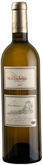 Château Tour de Mirambeau Cuvée Passion blanc 2012