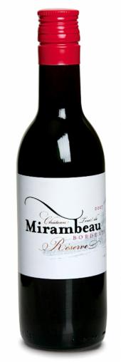 Château Tour de Mirambeau La Réserve rouge 2012   - 187 ml