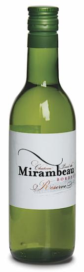 Château Tour de Mirambeau La Réserve blanc 2014  - 187 ml