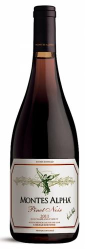 Montes Alpha Pinot Noir 2014
