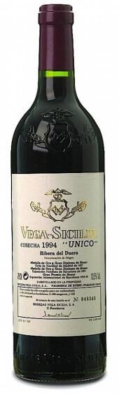 Vega Sicilia Único Reserva Especial Año 2015