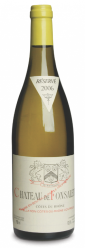 Côtes-du-Rhône Ch. de Fonsalette blanc 2005