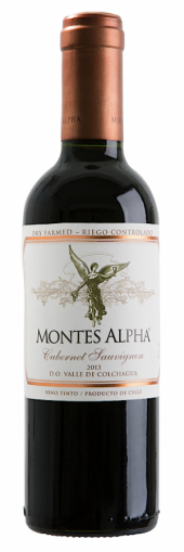 Montes Alpha Cabernet Sauvignon 2013  - meia gfa.