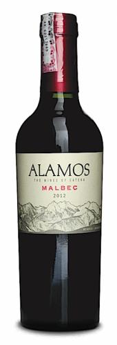 Alamos Malbec 2015  - meia gfa