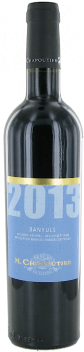 Banyuls rouge 2013  - 500 ml