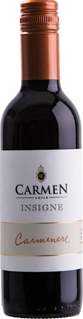 Carmen Insigne Carmenere 2015  - meia gfa.